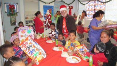Deantin at Christmas fiestas
