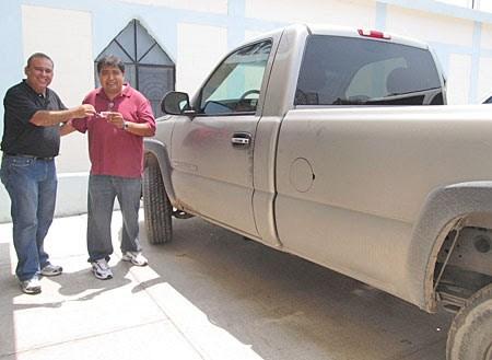 A new truck in Reynosa