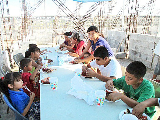 Our nutrition program at work in Miguel Aleman